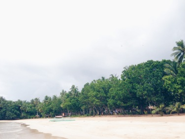 Sabang Beach! the location of Daluyon Hotel