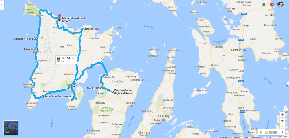 5 Provinces In 4 Days Panay Island  Negros Occidental Itinerary